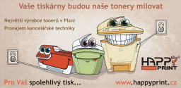 Tonery od největšího výrobce tonerů v Plzni!